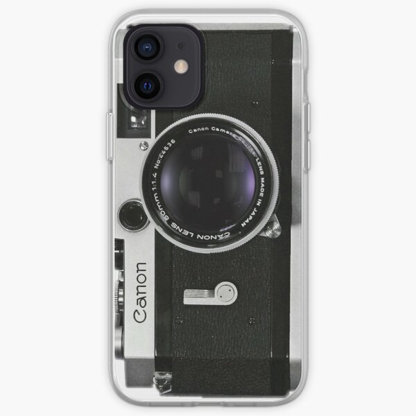 Vintage Canon Rangefinder iPhone Soft Case