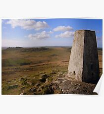 Cornwall: The Highest Point in the County Poster