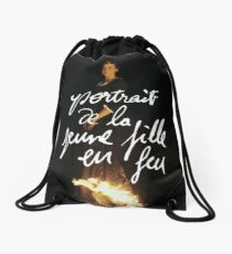 Portrait of a lady on fire  Drawstring Bag