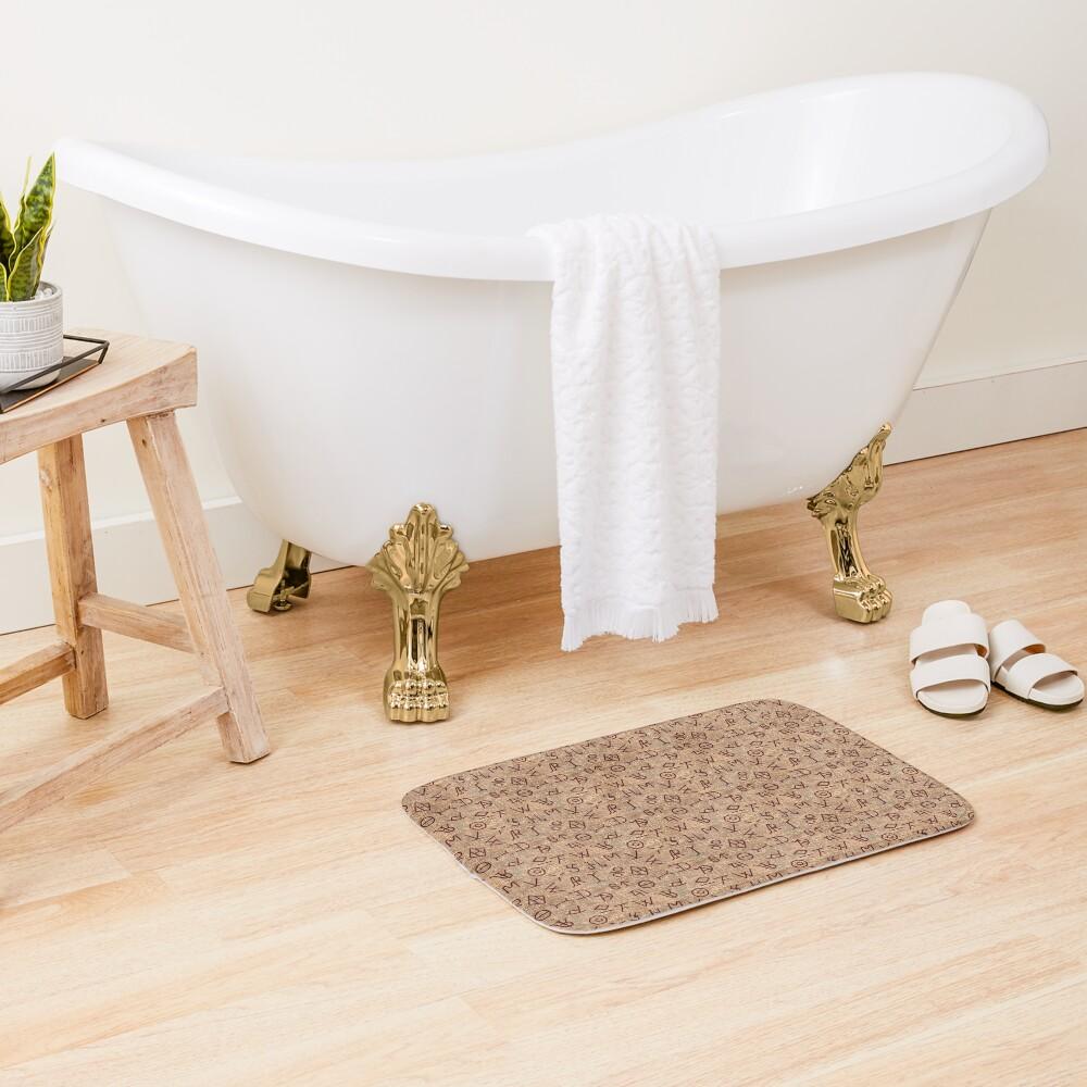 Cattle Brands Bath Mat