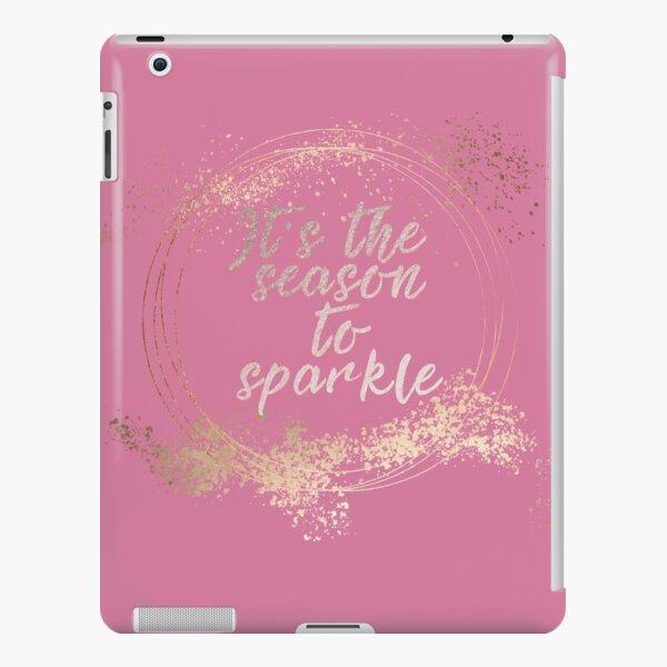Pink Glam Christmas Decor iPad Snap Case
