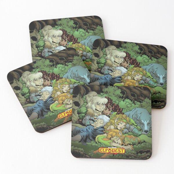 Elfquest: True Peace II Coasters (Set of 4)