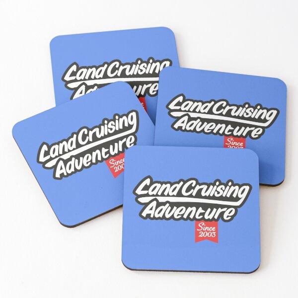 Landcruising Adventure since 2003 Coasters (Set of 4)