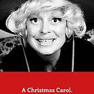 Carol Channing Christmas Card by gregs-celeb-art