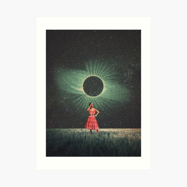 Total Eclipse of You Art Print