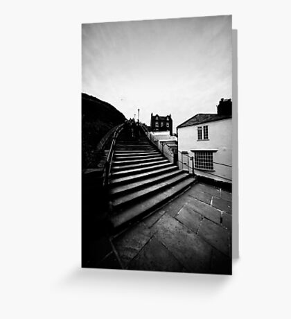 Whitby Steps Greeting Card