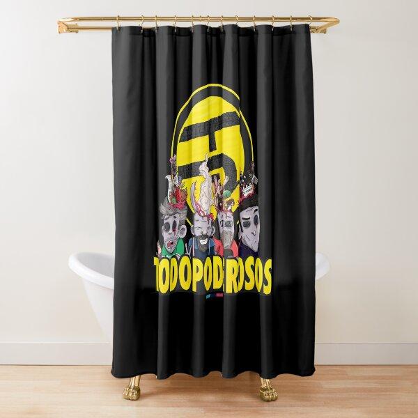 Todopoderosos by Fran Ferriz Cortina de ducha