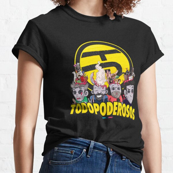 Todopoderosos by Fran Ferriz Camiseta clásica