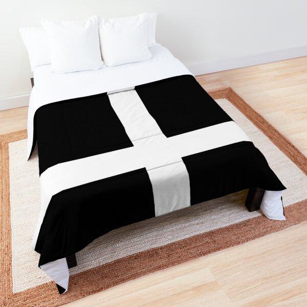 Mod, White Cross Comforter