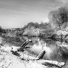 River side by Gouzelka