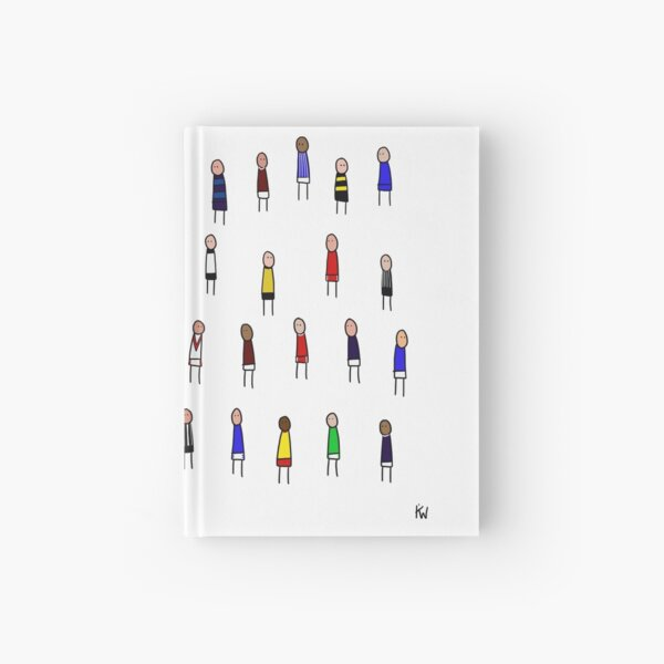 All 42 SPFL teams Hardcover Journal