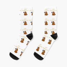 Happy Groundhog Day 2020 Socks