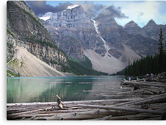 Moraine Lake by George Cousins