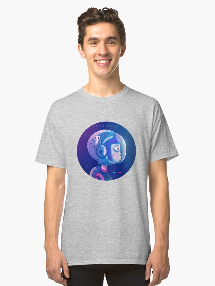 Vista alternativa de Camiseta clásica Astrogirl by Fran Ferriz
