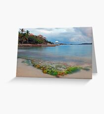 Secret Harbor Greeting Card