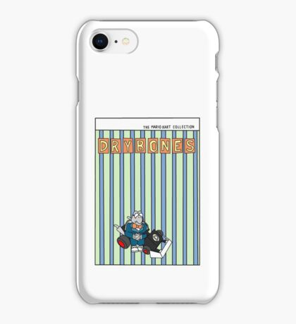 The Mario Kart Collection Presents: Dry Bones iPhone Case/Skin