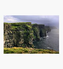cliffs.. Photographic Print