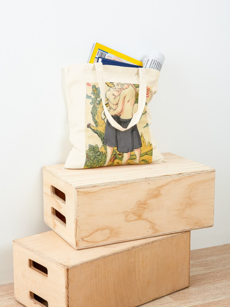 Alternate view of Healthy Body & Healthy Soul Tote Bag