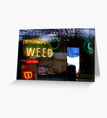 420... anytime Greeting Card
