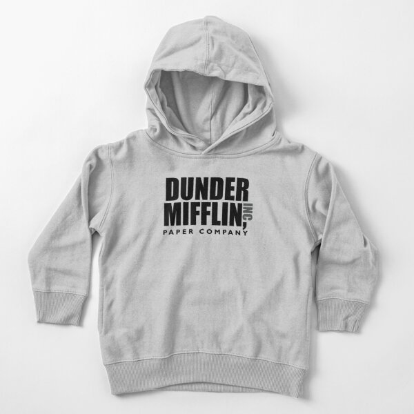 The Dunder Office Mifflin Inc. Design, T-Shirt, tshirt, tee, jersey, poster, Original Funny Gift Idea, Dwight Best Quote From Toddler Pullover Hoodie