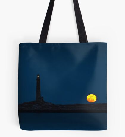 Thacher Island North Tower  Tote Bag