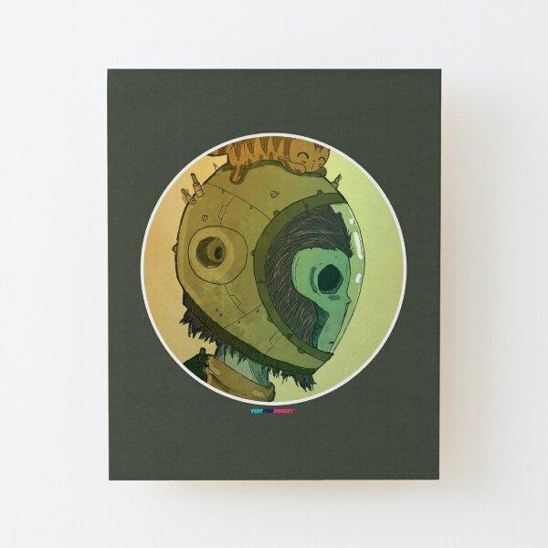 Astromonkey by Fran Ferriz Lámina montada de madera