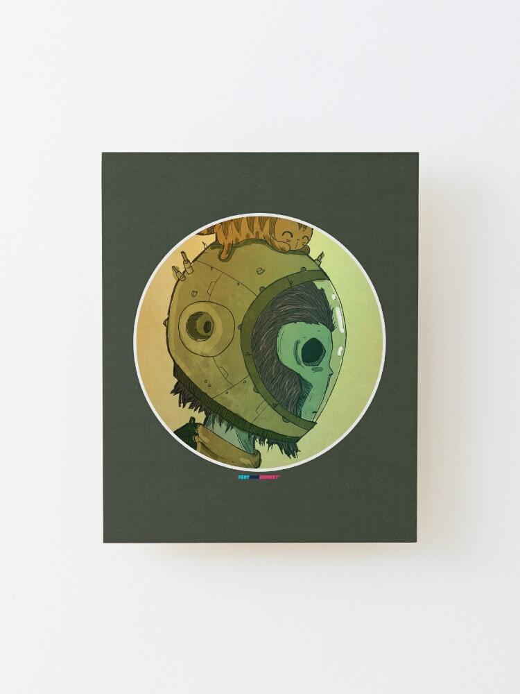 Vista alternativa de Lámina montada Astromonkey by Fran Ferriz