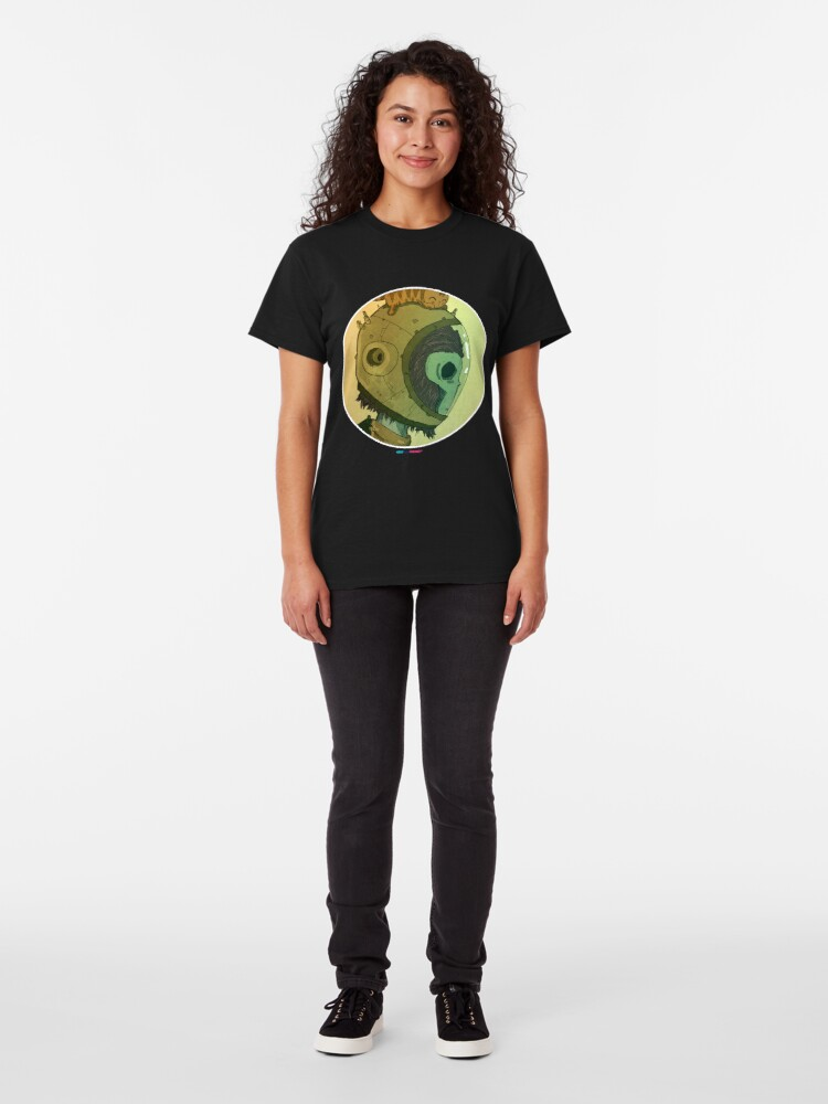 Vista alternativa de Camiseta clásica Astromonkey by Fran Ferriz