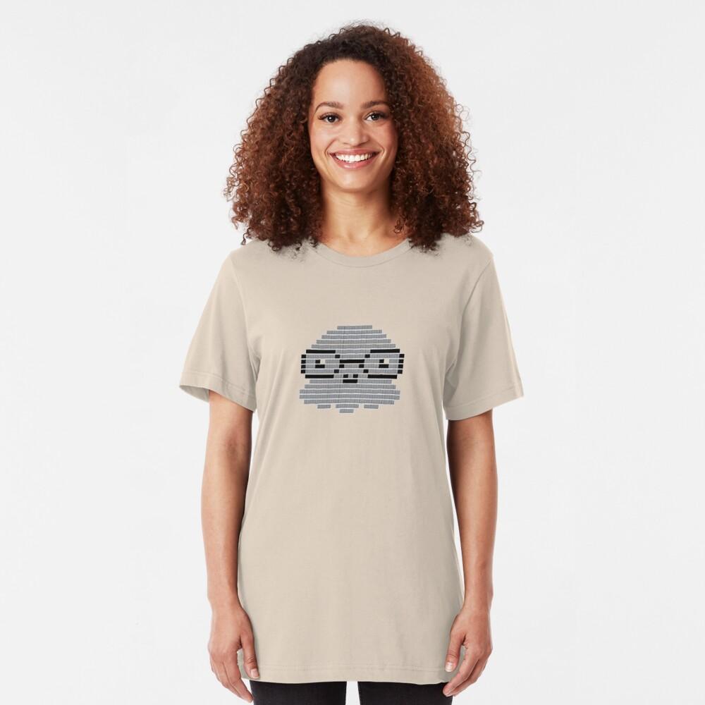 Professor Squid - Octopus with Glasses Slim Fit T-Shirt