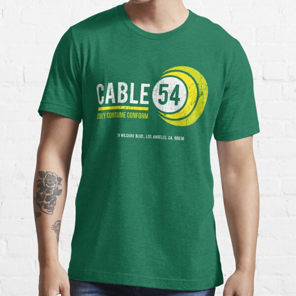 Cable 54 (worn look) Essential T-Shirt