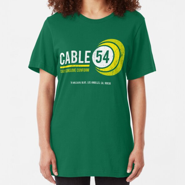 Cable 54 (worn look) Slim Fit T-Shirt