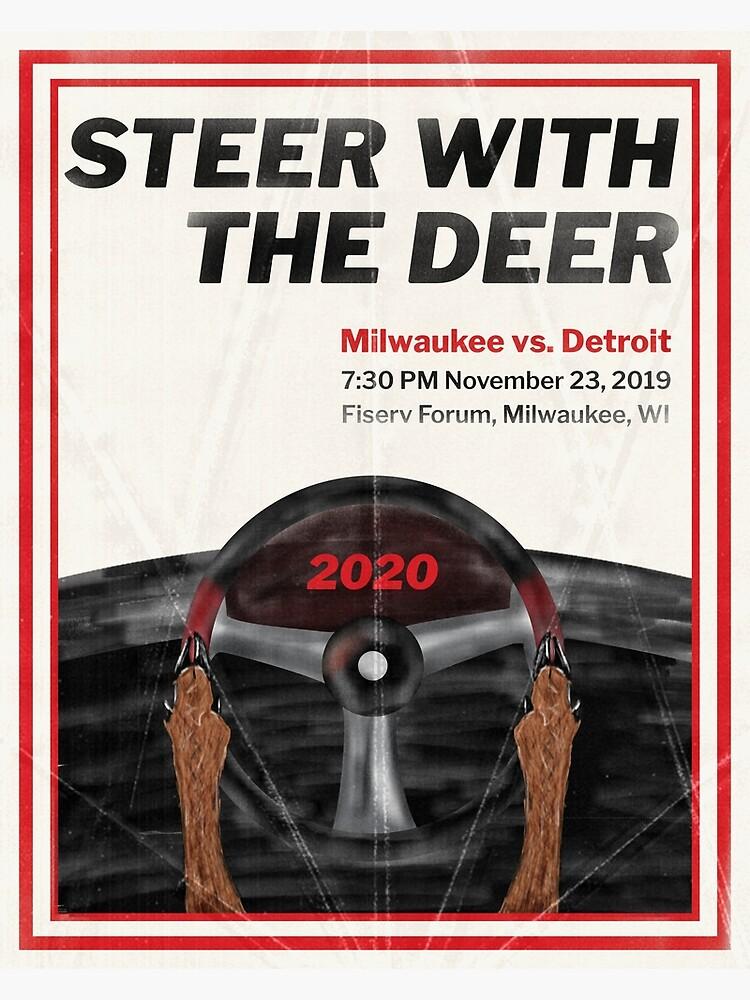 Steer with the Deer by AJW3-Art