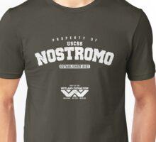 Property of USCSS Nostromo - white Unisex T-Shirt