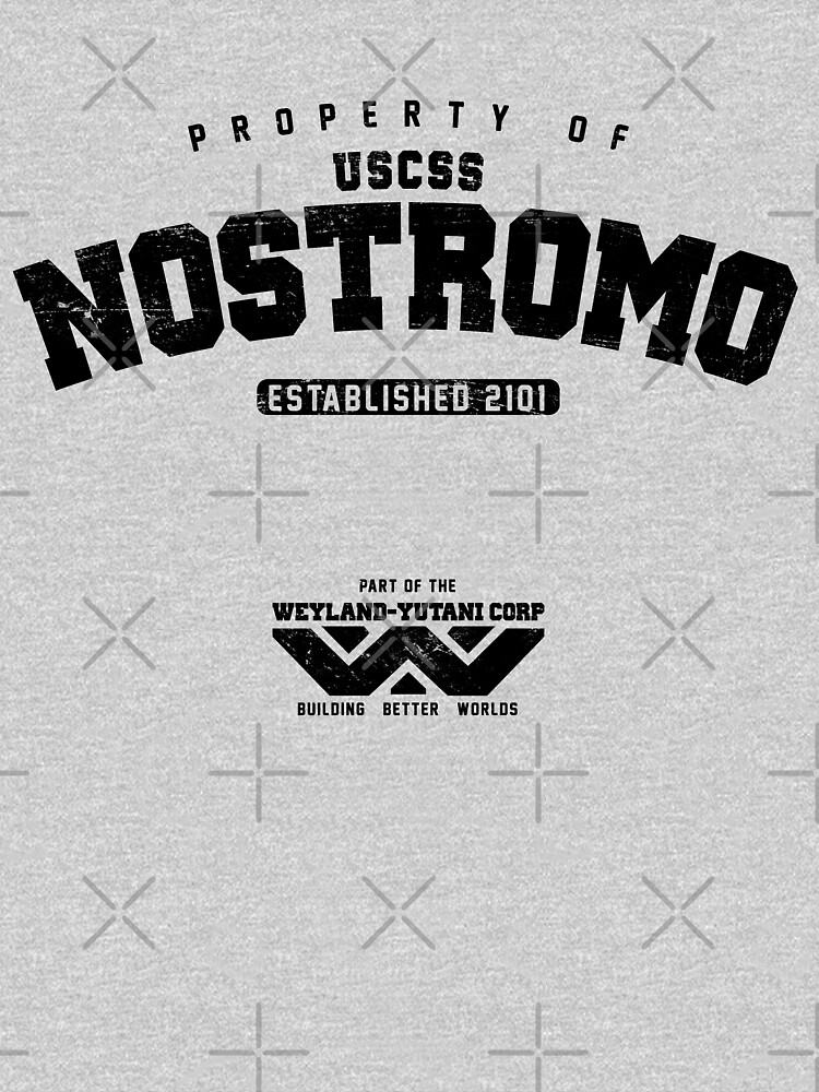 Property of USCSS Nostromo - black | Unisex T-Shirt