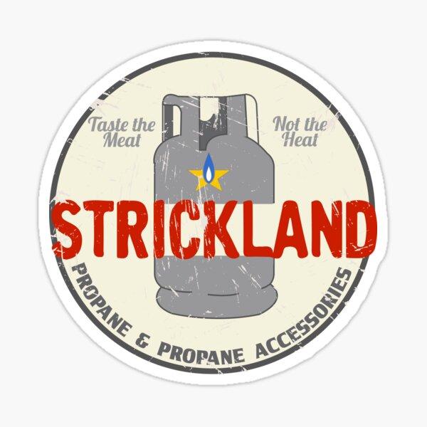 Strickland Propane Promotional Sticker