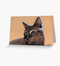 Big Kitten Greeting Card