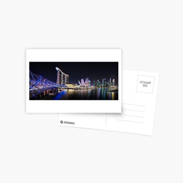 Marina Bay, Singapore Postcard