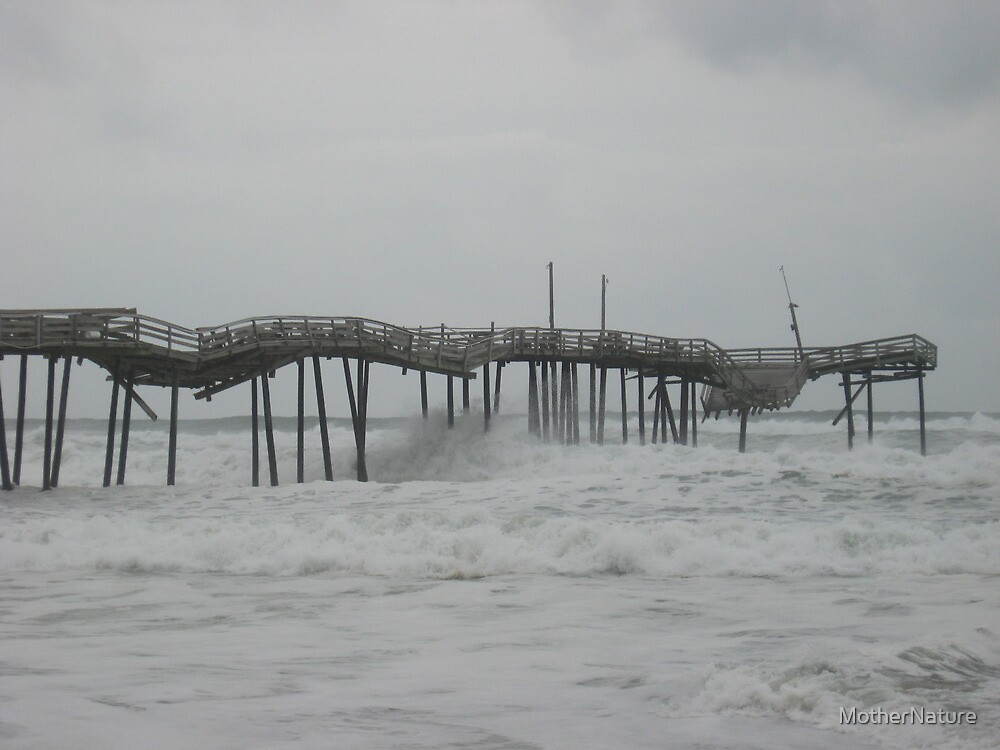 Frisco Pier - Outer Banks NC by MotherNature