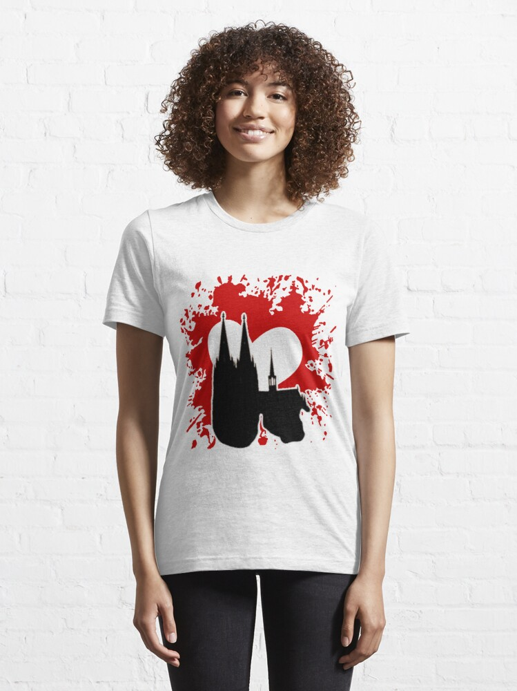 Alternative Ansicht von Cologne Love Essential T-Shirt