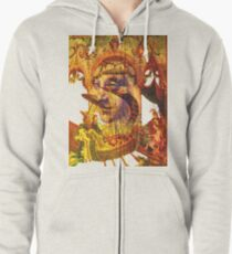 Ancient of Days T Zipped Hoodie