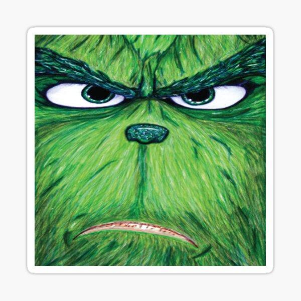 Green Christmas 1 Sticker