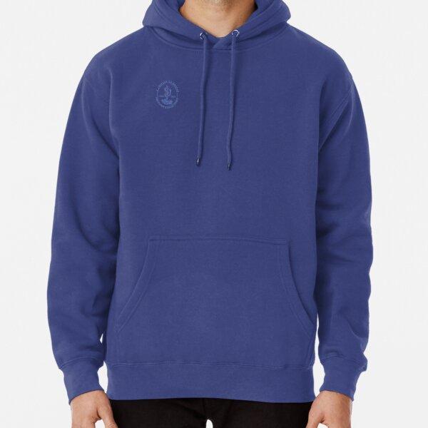 Blue logo Pullover Hoodie