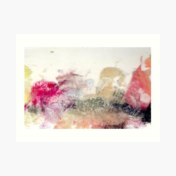 Fall Abstraction Art Print