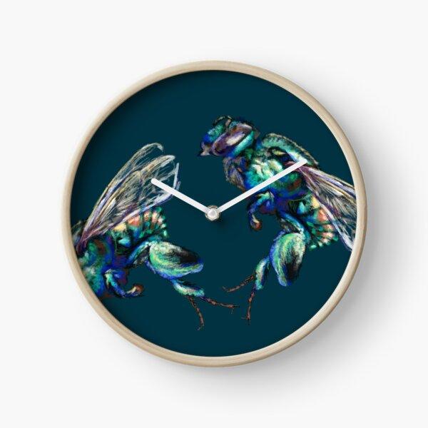 Zoom Orchid bee Horloge