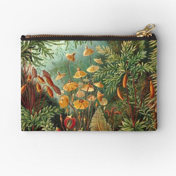 Vintage Plants Decorative Nature Painting Illustration Artwork Zipper Pouch