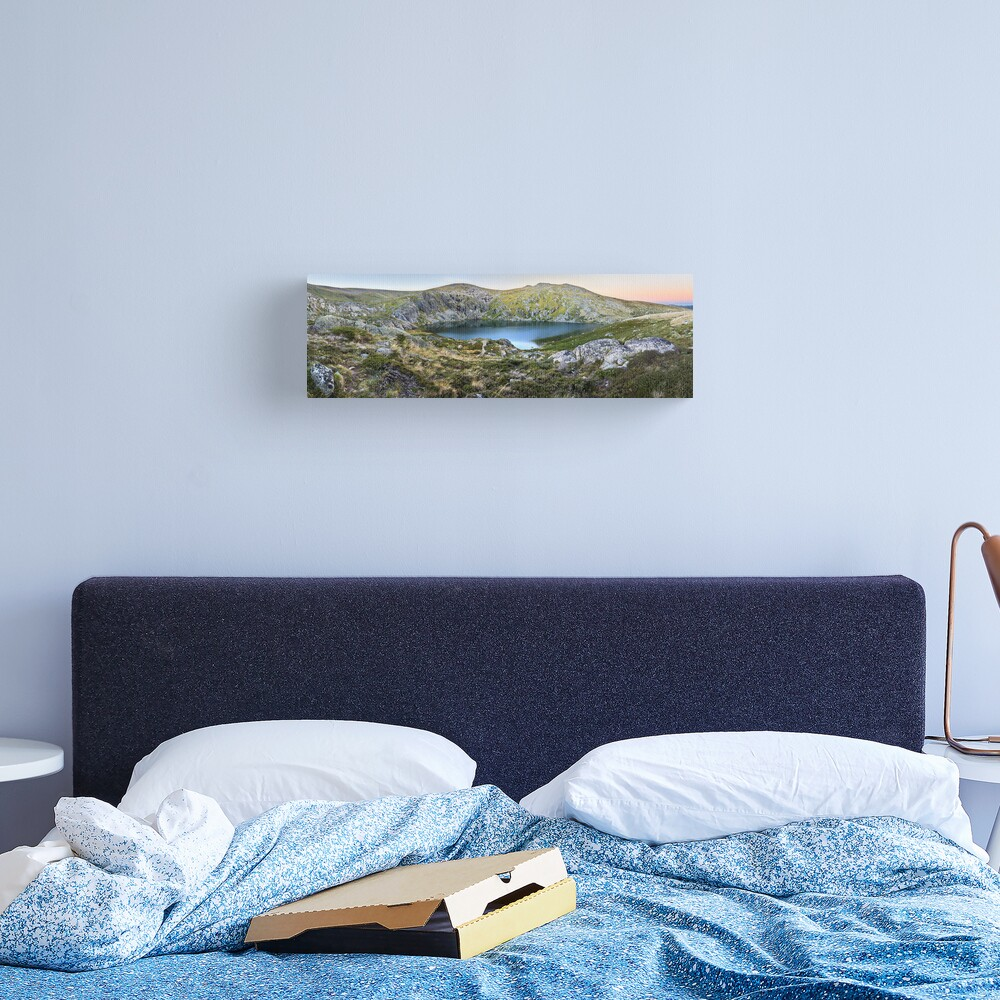 Blue Lake, Kosciusko National Park, Australia  Canvas Print