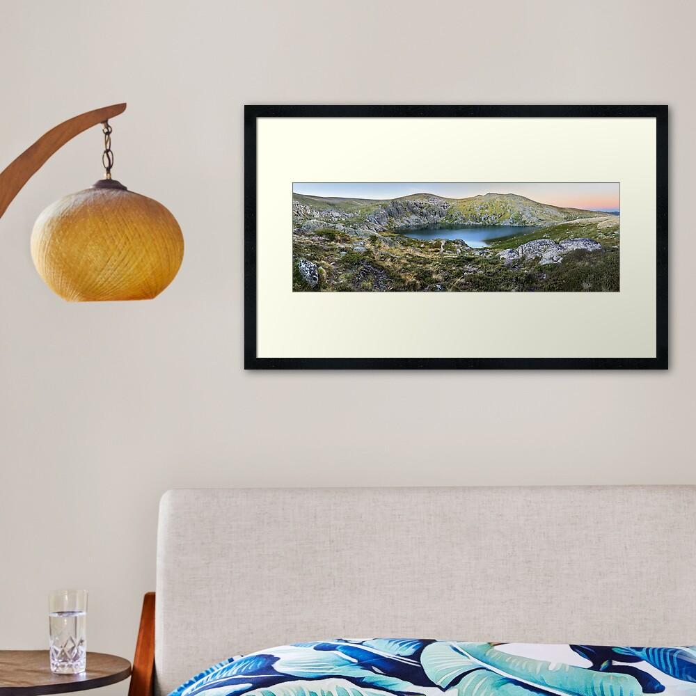 Blue Lake, Kosciusko National Park, Australia  Framed Art Print