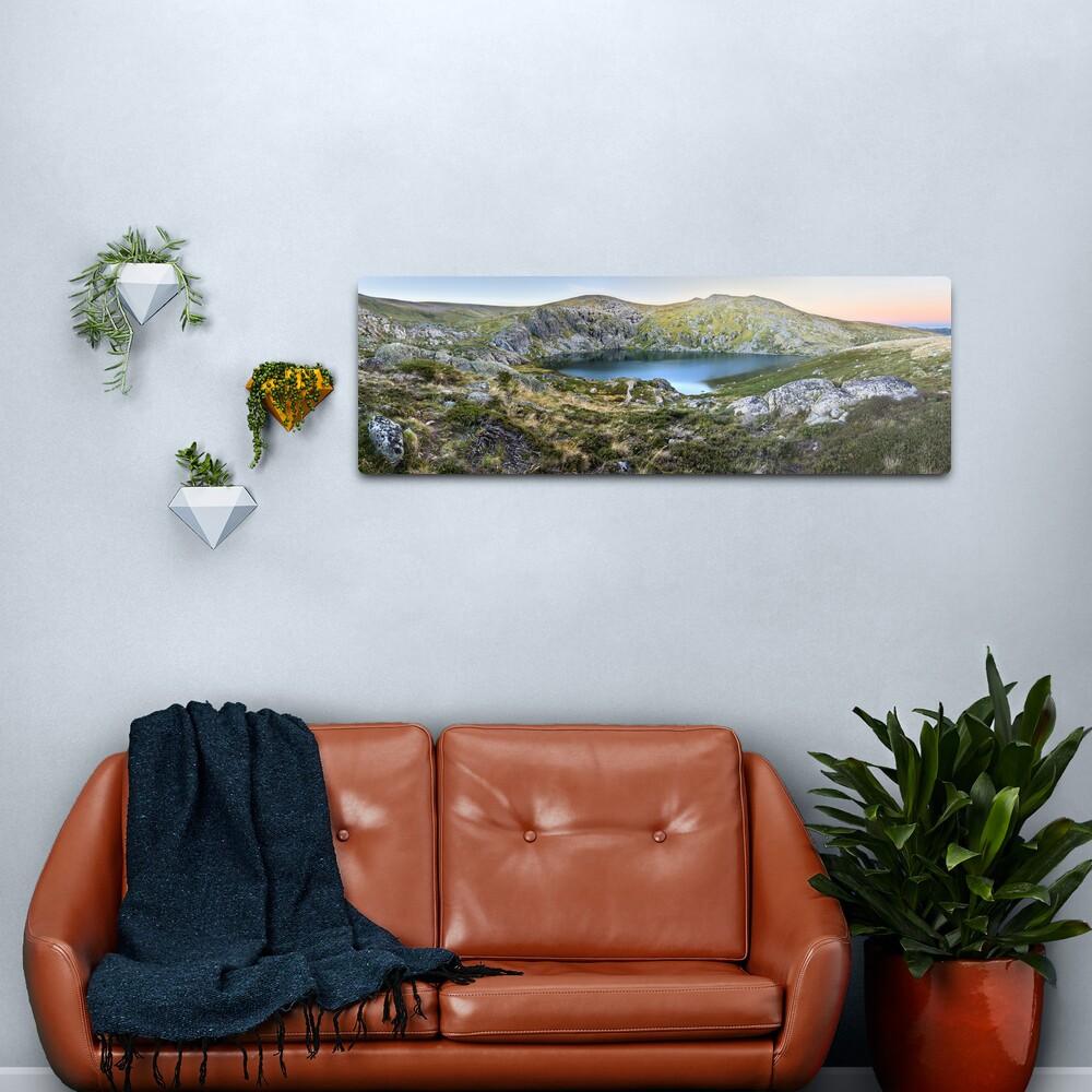 Blue Lake, Kosciusko National Park, Australia  Metal Print