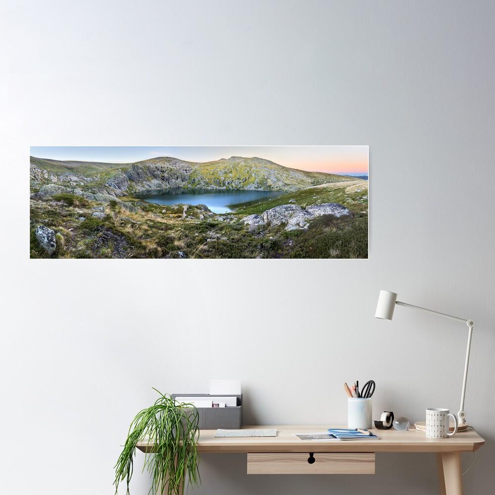 Blue Lake, Kosciusko National Park, Australia  Poster