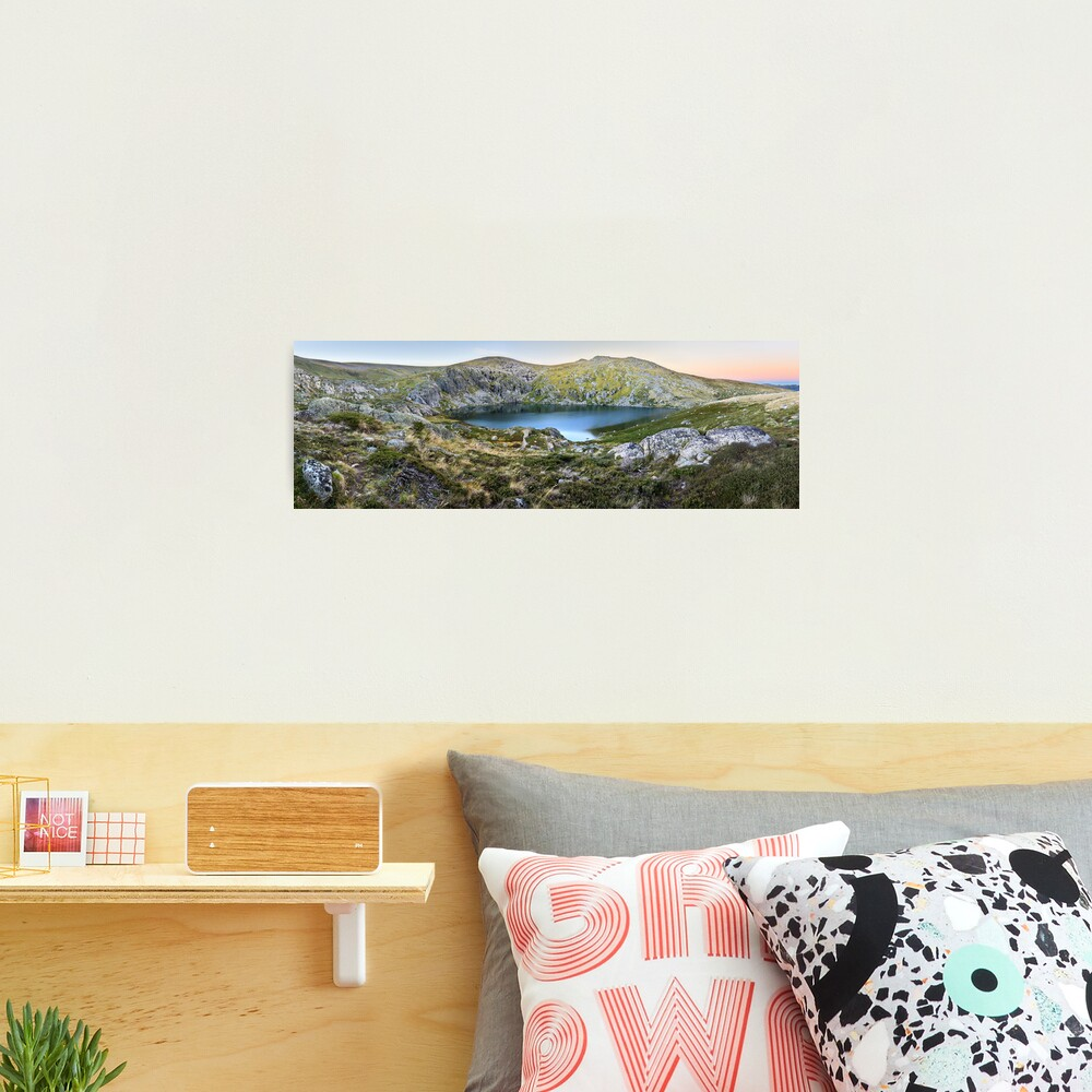 Blue Lake, Kosciusko National Park, Australia  Photographic Print